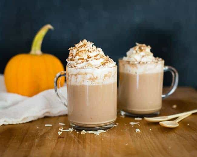 White Mocha Pumpkin Hot Chocolate | HelloGlow.co