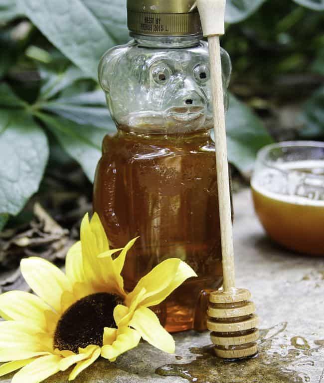 Honey vanilla bubble bath