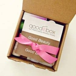 GoodeBox 3-Month Subscription Giveaway (Closed)