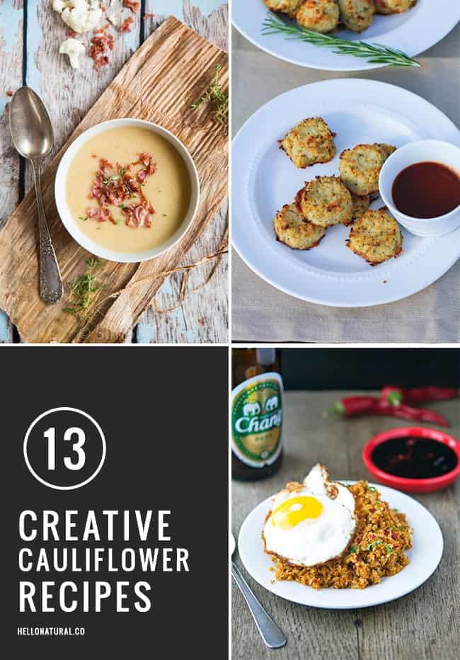 13 Creative Cauliflower Recipes | HelloGlow.co