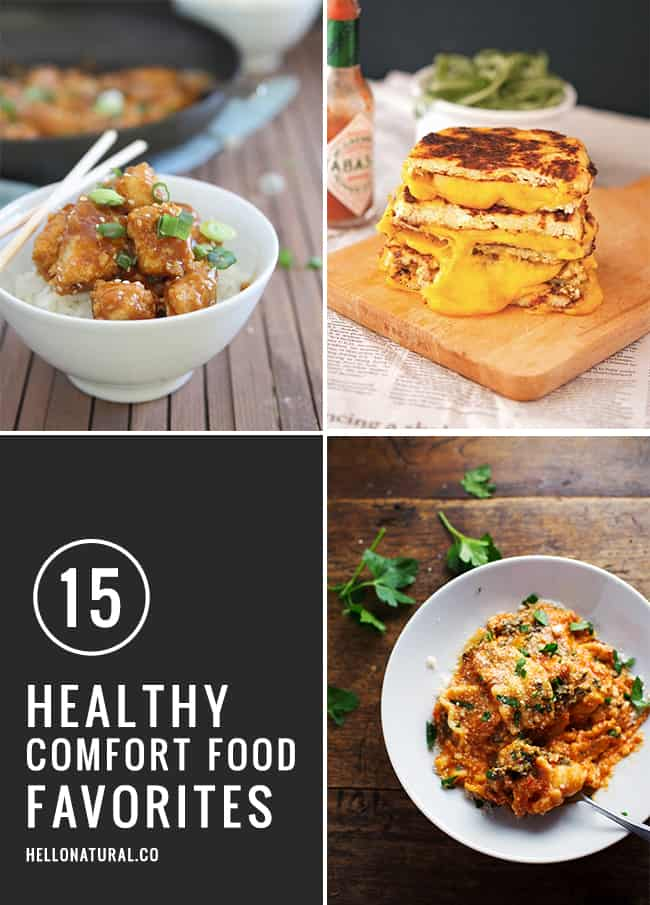 15 Healthy Comfort Food Recipes | HelloGlow.co