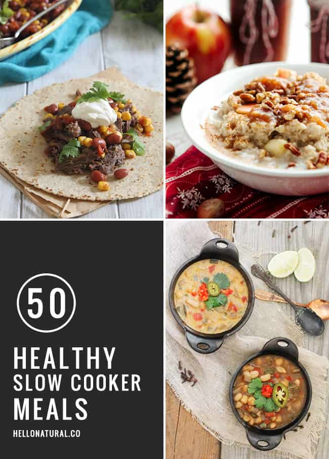 50 Healthy Slow Cooker Meals | HelloGlow.co