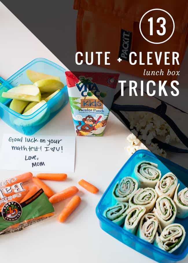 13 Clever Lunch Box Tricks | HelloNatural.co