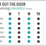 Get-Out-The-Door Morning Checklist | HelloNatural.co