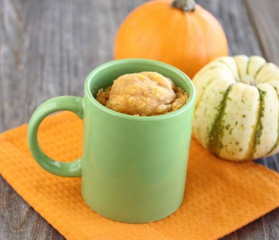 Pumpkin Cinnamon Mug Cake