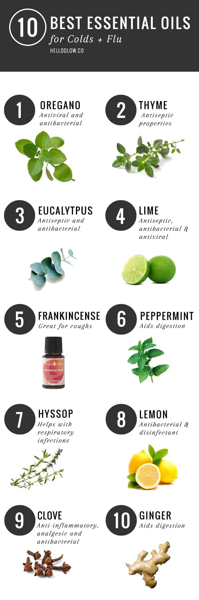 10 Best Essential Oils for Cold & Flu