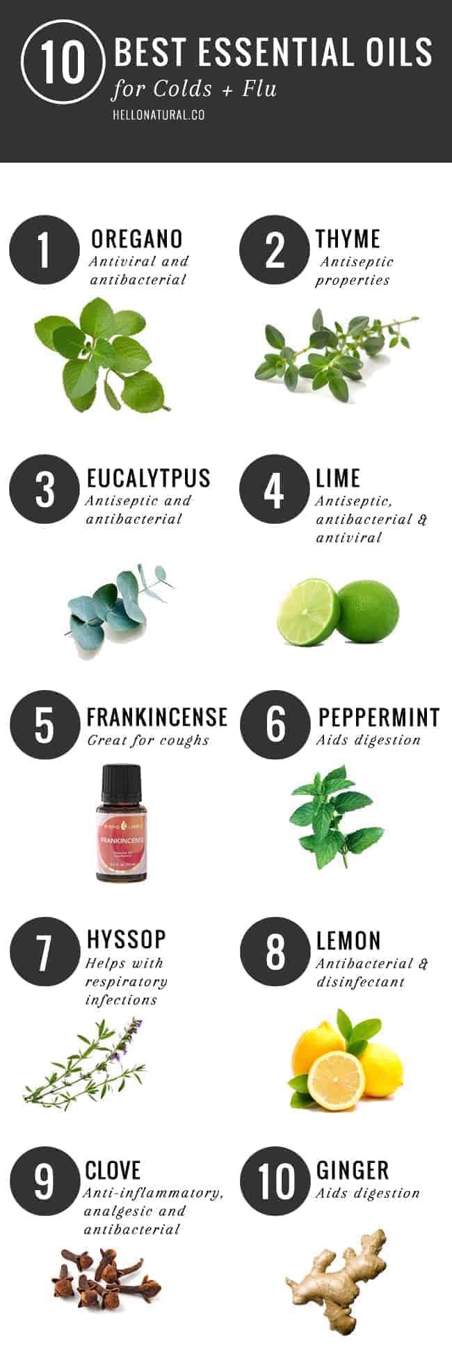 10 Essential Oils for Cold and Flu | HelloNatural.co