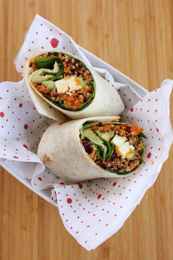 Quinoa Avocado Wrap