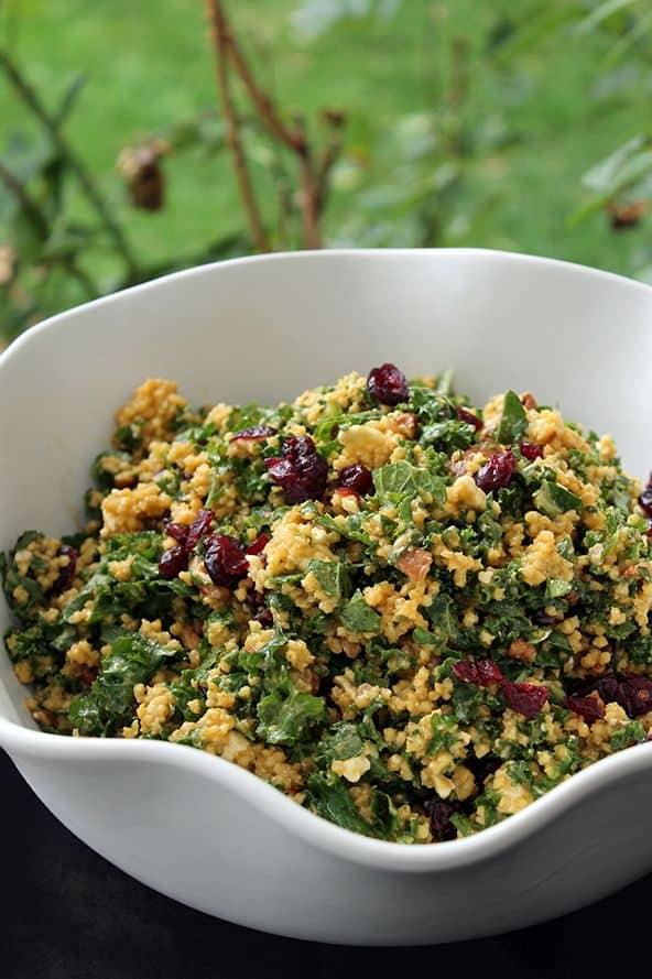 Cranberry Pecan Kale Salad