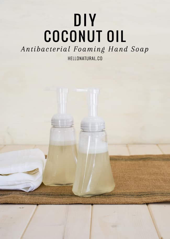 Antibacterial Coconut Hand Soap | HelloNatural.co
