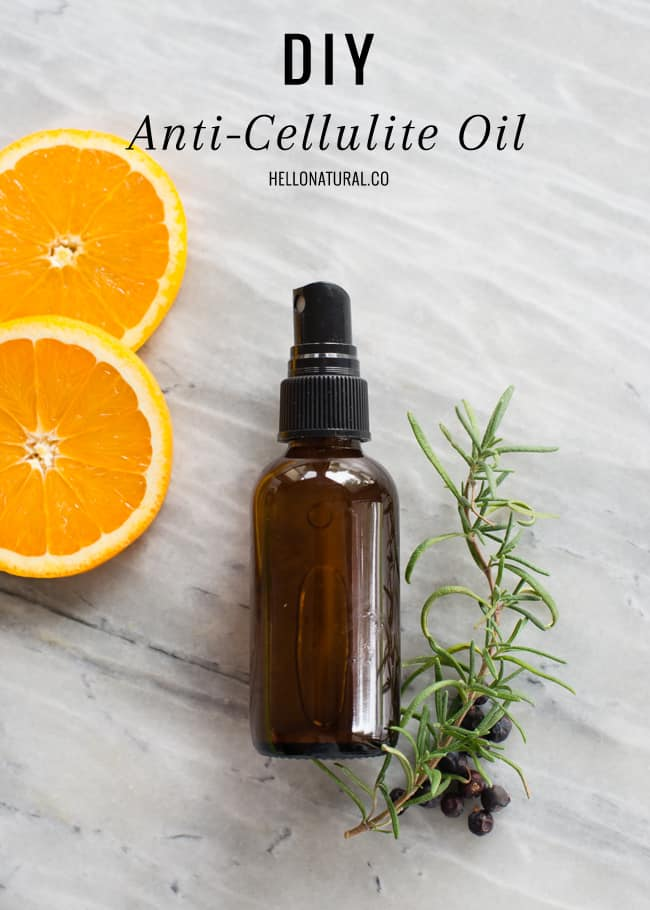 DIY Anti-Cellulite Oil + Honey Cellulite Massage