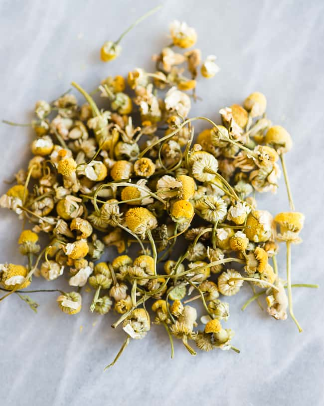 Chamomile Hair Rinse for Blondes | HelloGlow.co