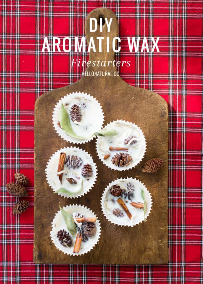 Aromatic Wax Fire Starters