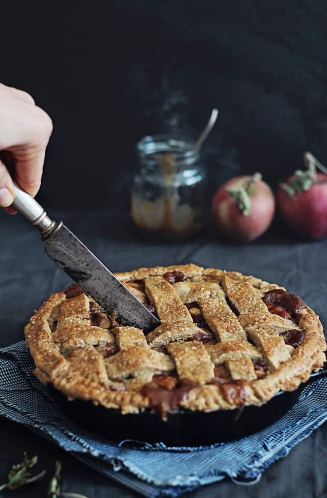 Gluten-Free Apple PIe recipe | HelloGlow.co