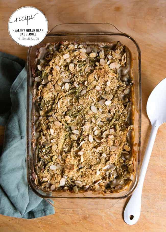 Healthy Green Bean Casserole Recipe | HelloGlow.co