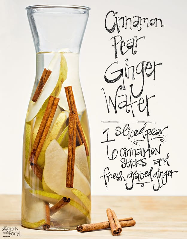 Pear Cinnamon Ginger   21 Infused Waters for Fall   HelloGlow.co