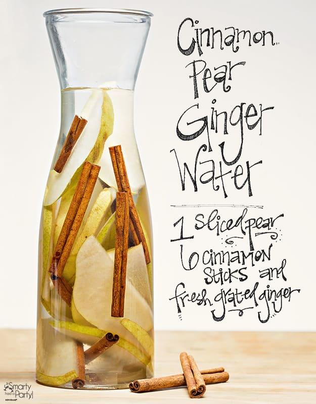 Pear Ginger Cinnamon