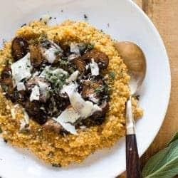 Creamy Pumpkin Quinoa Risotto