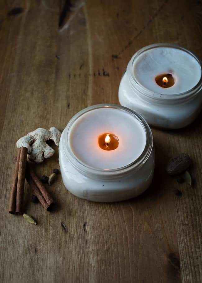 DIY Chai Candles | HelloNatural.co