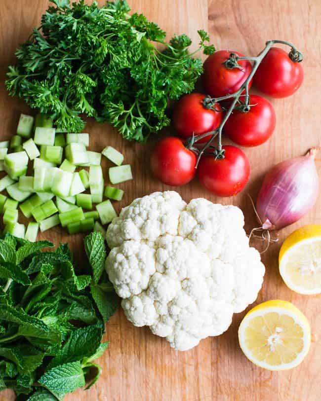 How To Make Cauliflower Rice Salad | HelloGlow.co