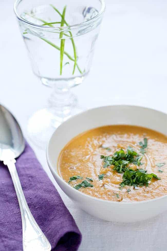 Vegan Creamy Butternut Soup   Hello Natural