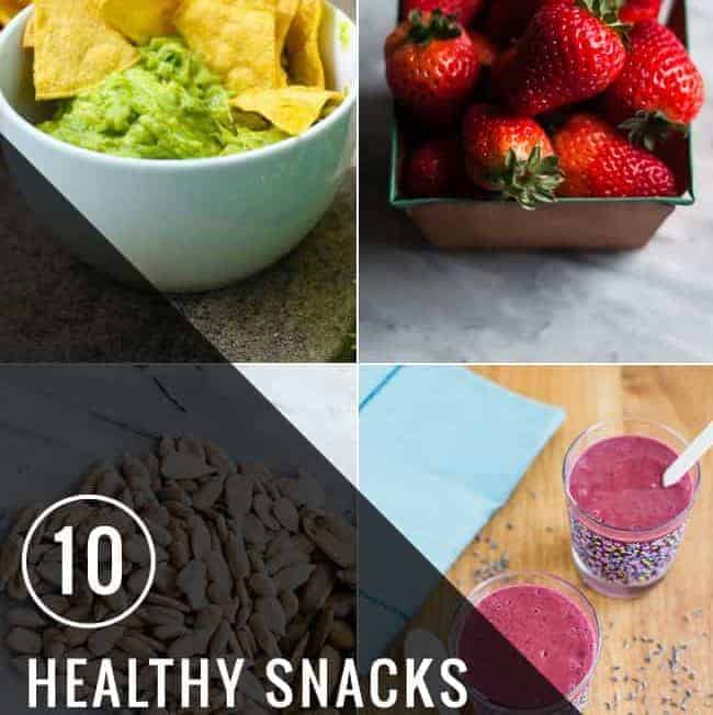 10 Healthy Snacks for Clean Eating | HelloGlow.co