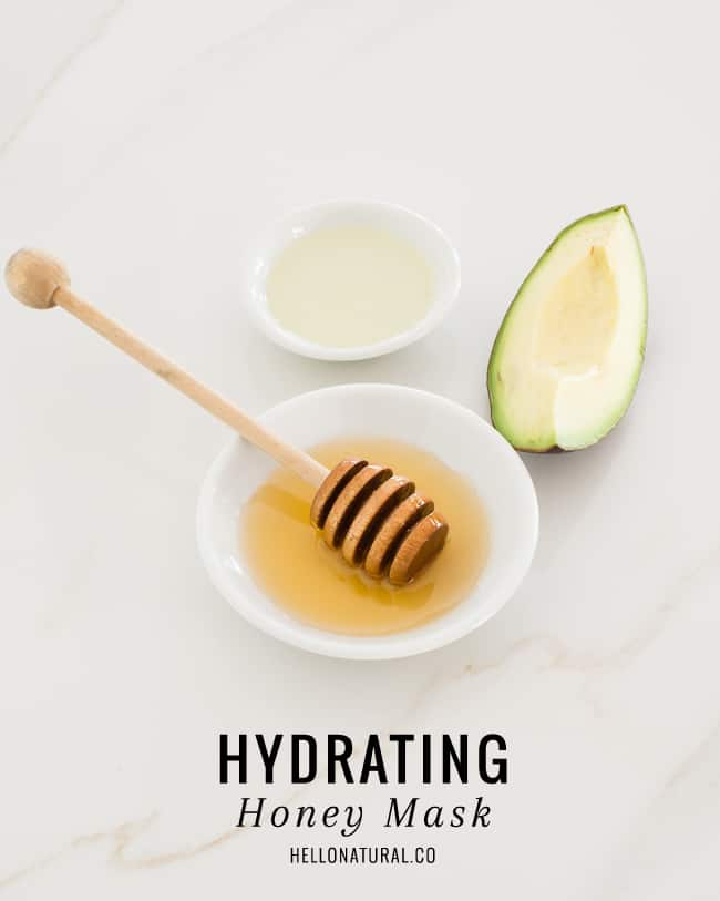 Hydrating Honey Face Mask + 2 More DIYs for Winter Skin| HelloNatural.co