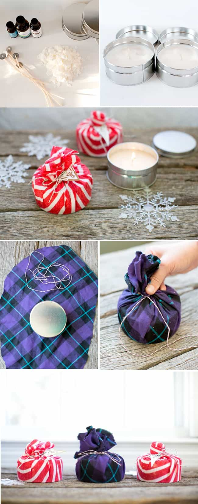 Perfect Hostess Gift! DIY Soy Wax Candles