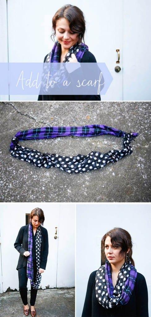 No sew infinity scarf | Hello Glow