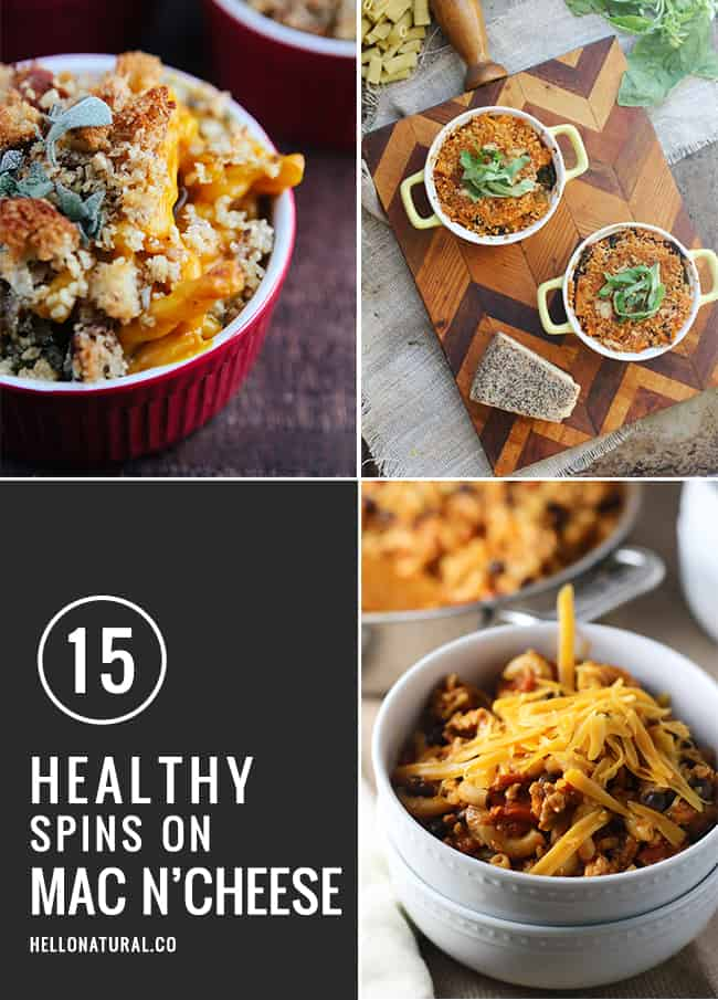 15 Healthy Spins on Classic Mac n' Cheese | Hello Natural