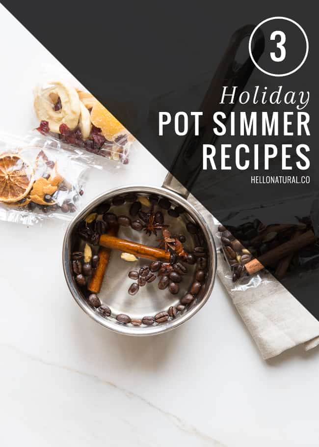 3 Holiday Pot Simmer Recipes | HelloGlow.co