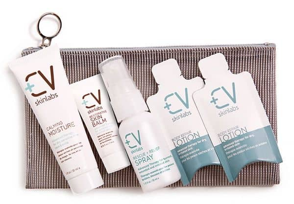 cv skinlabs skincare package giveaway   187 value
