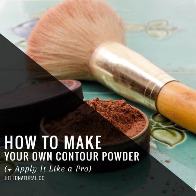How to Make Your Own Contour Powder   HelloGlow.co