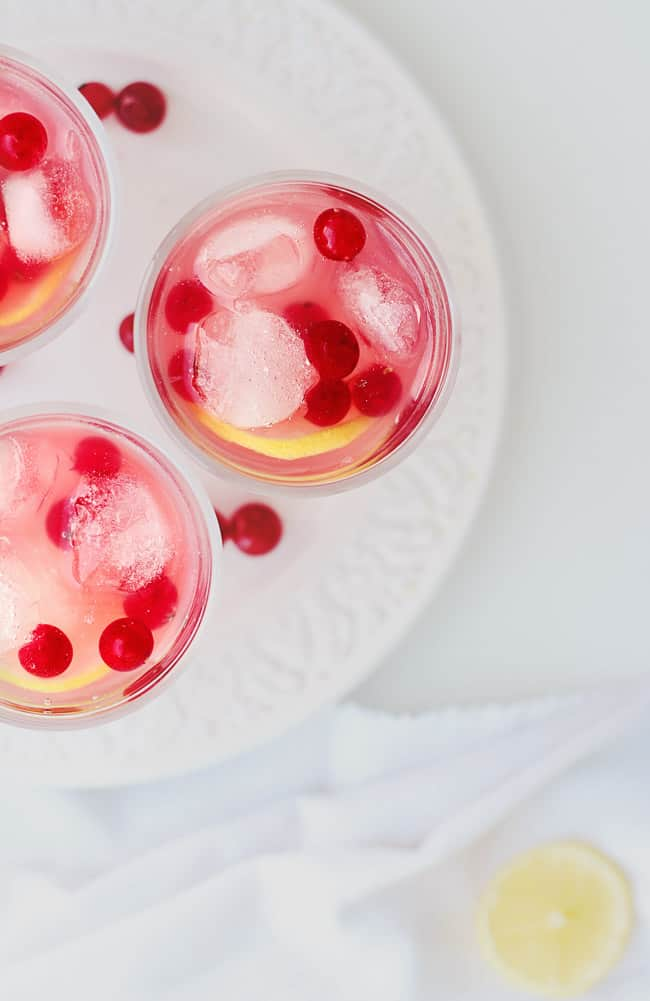 Cranberry-Ginger Gin Punch Recipe | HelloGlow.co