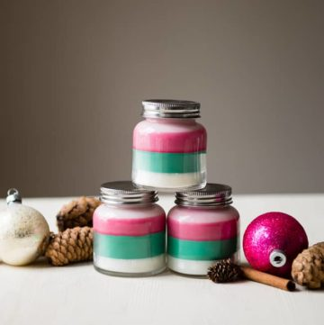 Layered Scent DIY Holiday Candles | HelloGlow.co