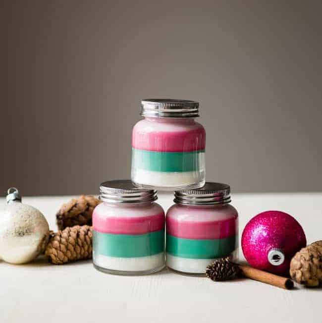 DIY: Layered Scent Holiday Candles