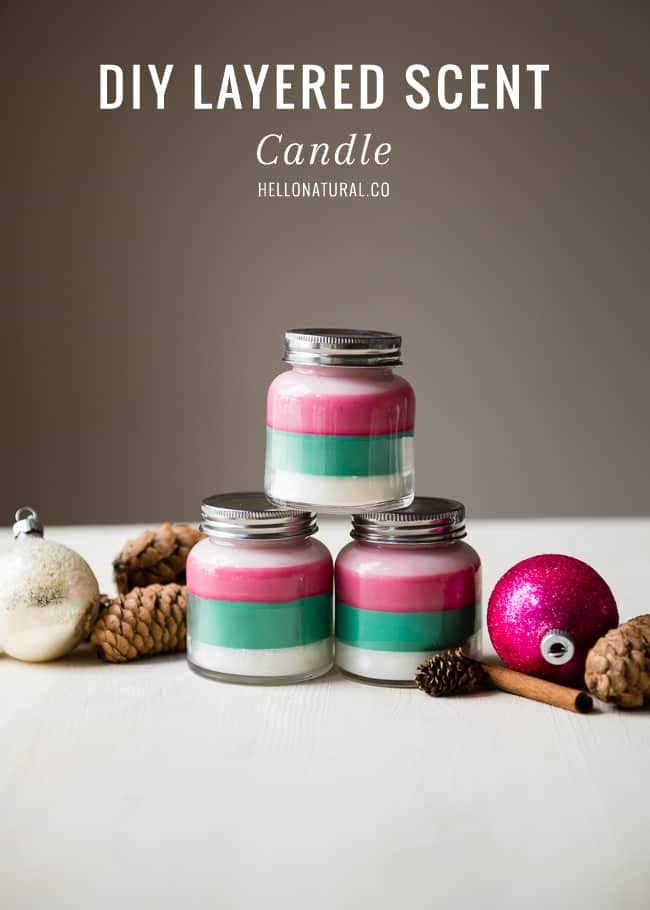DIY Layered Scent Candle | HelloGlow.co