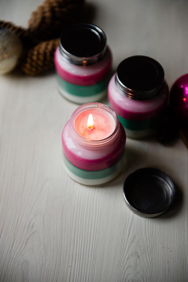 Layered Scent DIY Candle | HelloNest.co