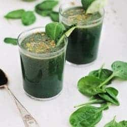 Post Thanksgiving Green Detox Smoothie