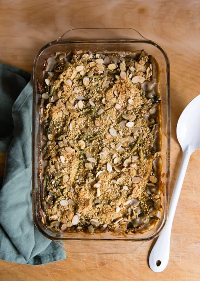 Healthy Green Bean Casserole Recipe by HelloNatural