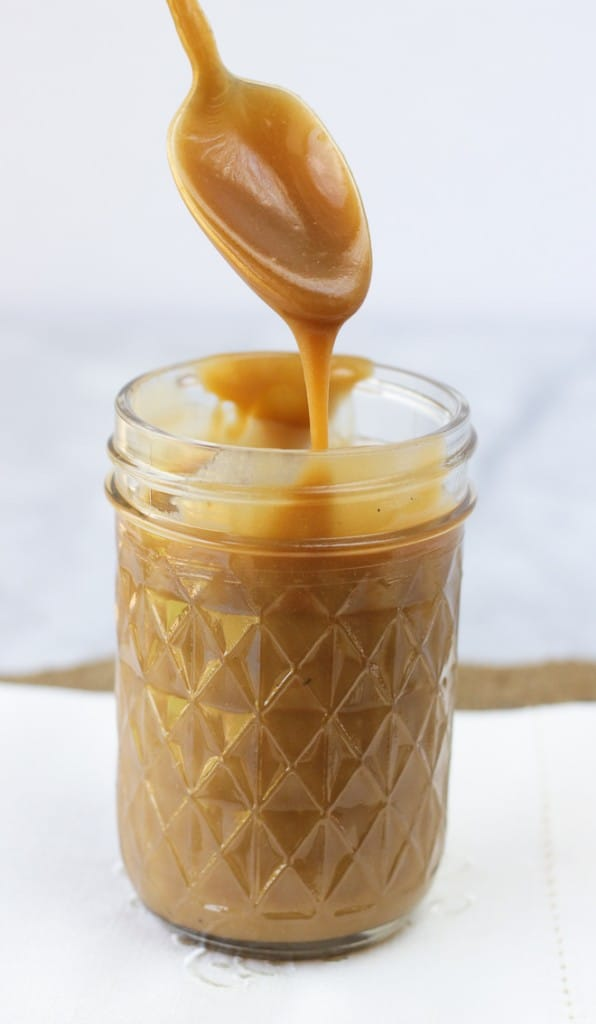 Easy Dairy-Free Caramel Sauce