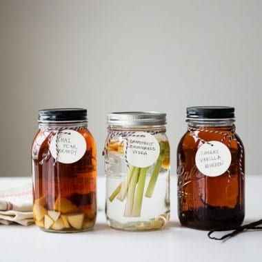 How To Infuse Booze + 9 Infused Recipe Ideas
