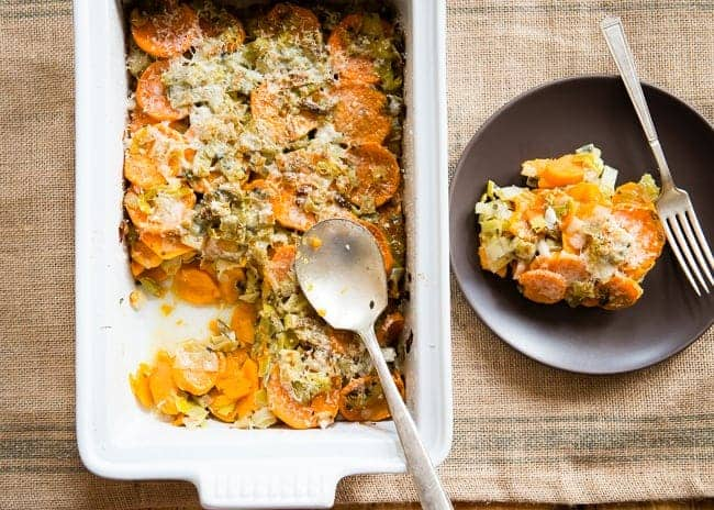 Healthy Sweet Potato Gratin Helloglow Co