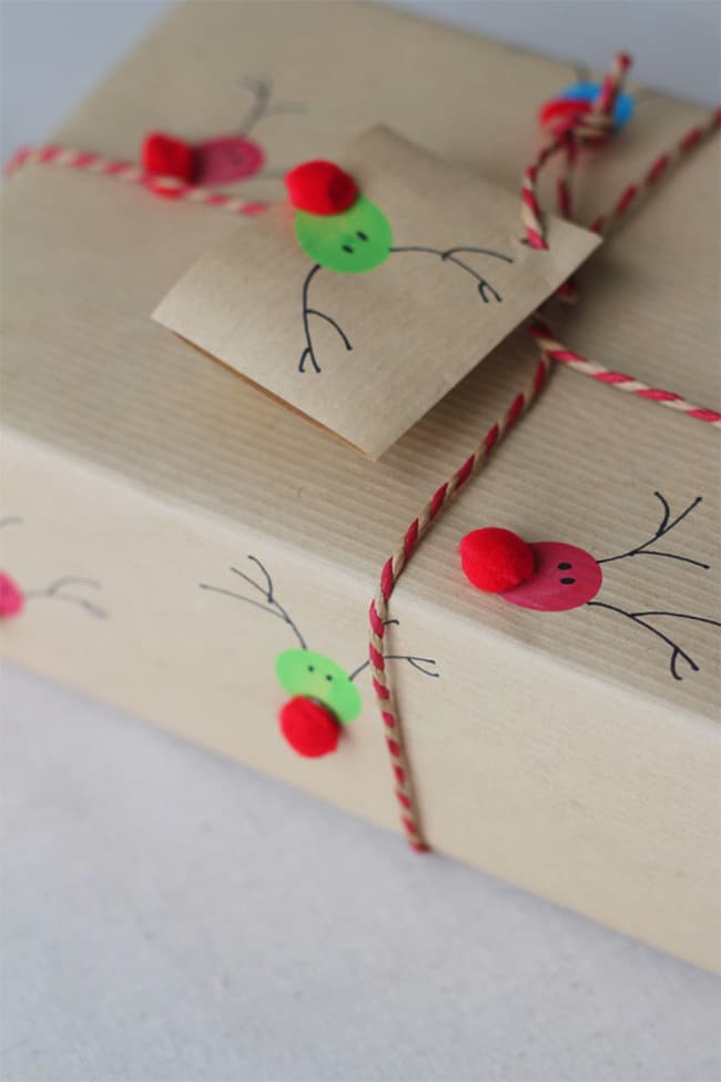 Holy jolly reindeer prints