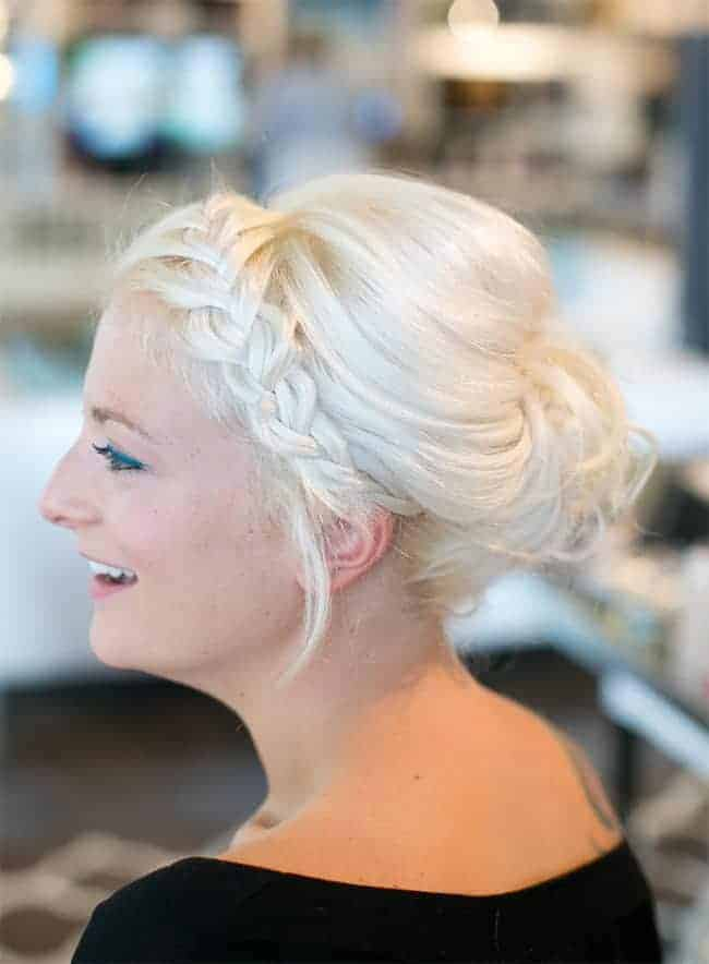 5 Easy Updos For Holiday Parties Helloglow Co