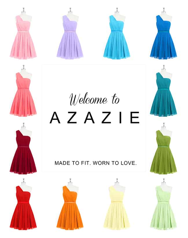 Azazie Made to Measure Dress Giveaway | Hello Glow