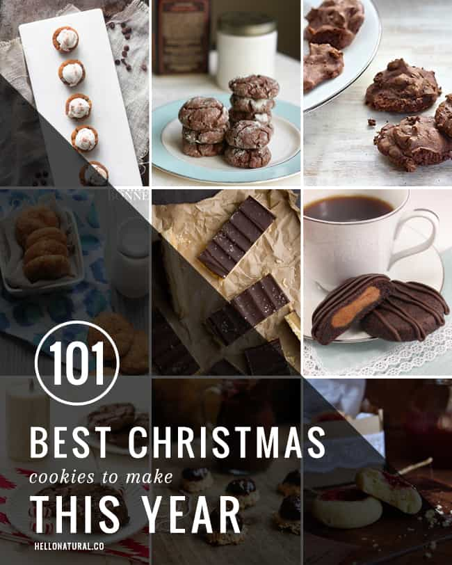 101 Best Christmas Cookies to Make This Year | HelloGlow.co