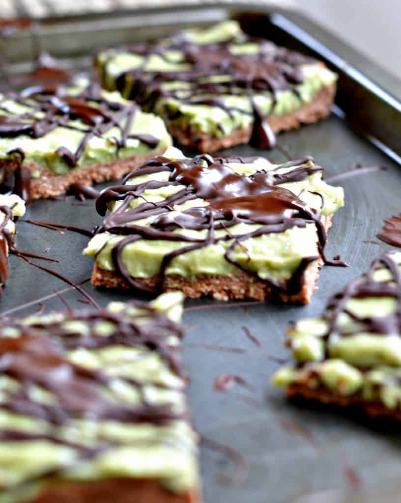 Raw Vegan Bars with Avocado