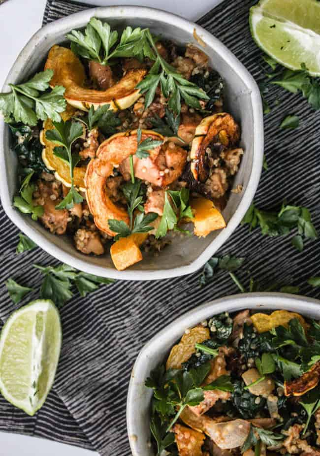 Dirt's Chanterelle Mushroom and Kale Salad with Lime-Tahini Sauce ...
