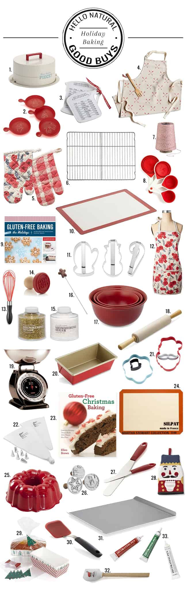 33 Festive Holiday Baking Buys | HelloGlow.co